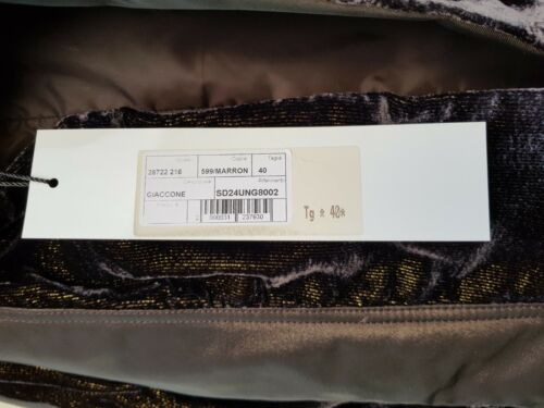 Made met Ungaro Fever 40 Nieuw maat originele labels Jacket Italy In xBRBqT