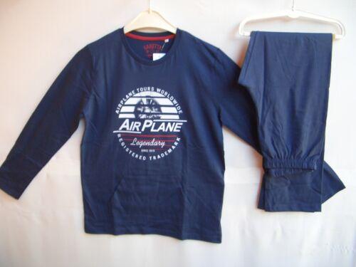 Sanetta Boys pyjama marine pantalon marine Taille 152 164 176 Prix Recommandé 29,99 €