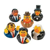 Us President Rubber Ducks - 12 Pcs, New, Free Shipping