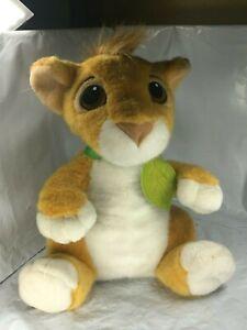 Rare-Disney-Lion-King-Plush-Baby-Simba-12-034-Vintage-1993-Mattel-Free-Shipping-EUC