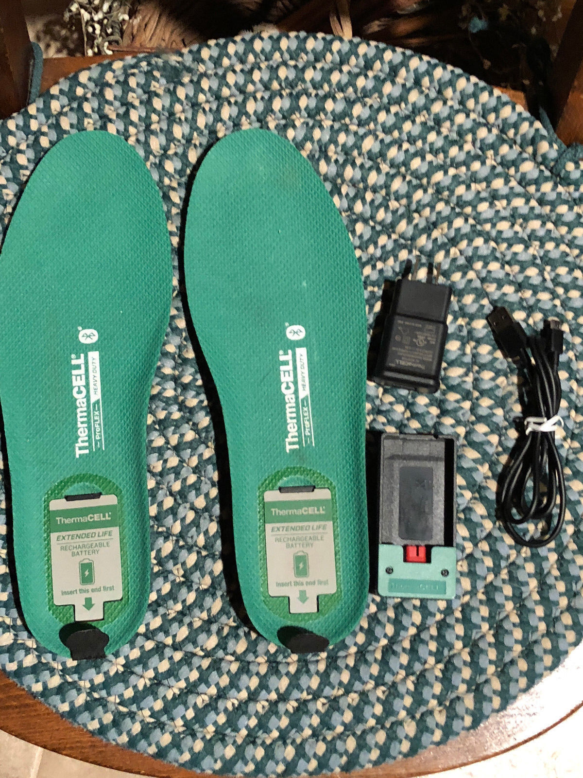 ThermaCELL  Proflex Heavy Duty Heated shoes Insoles w blueetooth, XL  hot sale online