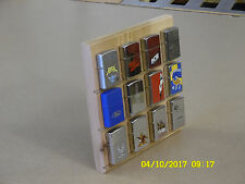 Zippo Lighter Display Stand MAGNETIC 12 Position LIMITED RUN - HUGE PRICE DROP!!