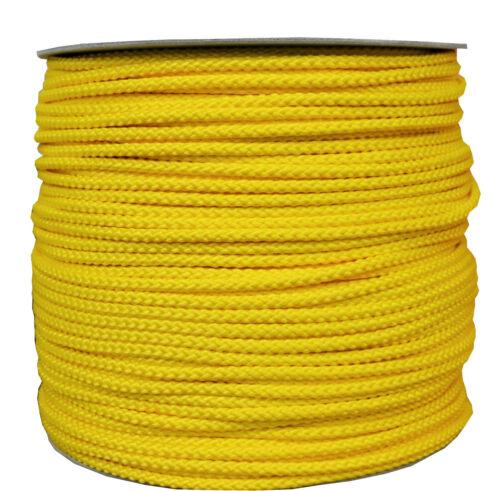 Allzweckseil Polypropylen 8 mm diverse Längen Schnur Tau Leine Tauwerk gelb