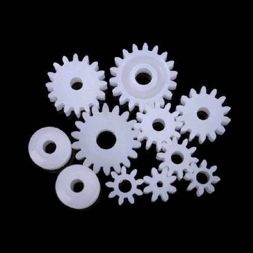 NEW Gears 11 Styles Plastic Gears All The Module 0.5 Robot Part for DIY