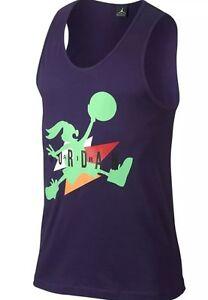 8fabd9731d31c6 Nike Air Jordan 7 VII WB Hare Retro Tank Top - Purple - Bugs Bunny ...