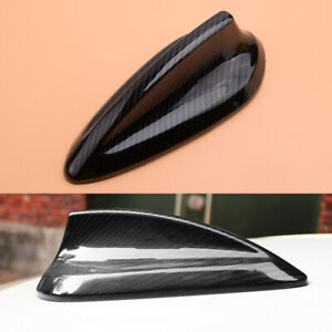 Carbon-Fiber-Style-Antenna-Shark-Fin-Cover-Trim-Fit-For-BMW-F21-F46-F26-F15-F16