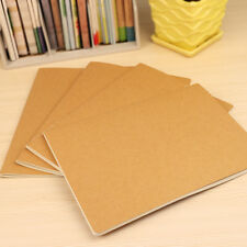 New Kraft Cover Notebooks Cowhide Paper Notebook Blank Notepad Book Daily Memos