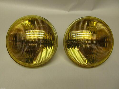 For SUPER BEE CHALLANGER ROAD RUNNER  AMBER FOG LIGHT HEADLIGHT SET NEW 5-3//4