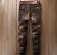 W33 Fit Qualité Retro Plissé l32 Pantalons Denim Slim Haute Jeans Élégant qRHfwzSqn
