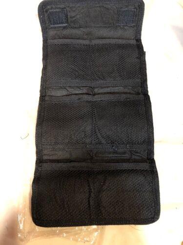 Nueva Cámara 6 bolsillos Unbranded Lente Filtro Billetera Estuche Negro Adaptador de lente de la bolsa