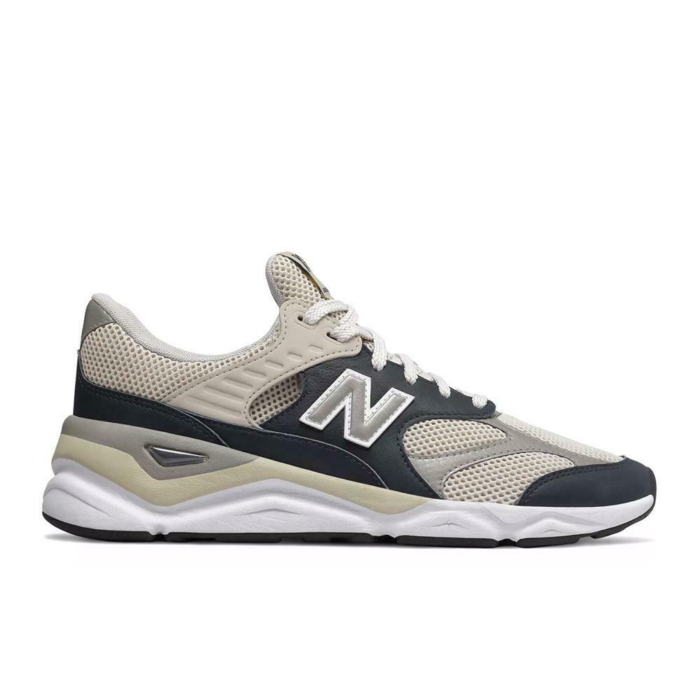 New Balance Men's X-90 Reconstructed Sneakers Light Grey NEW in BOX