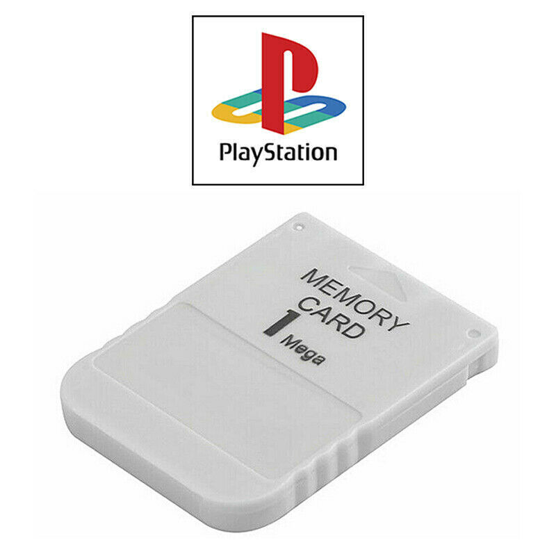 1MB Memory Card for Sony Playstation 1 PS1 PSX ONE 15 Blocks | FPC