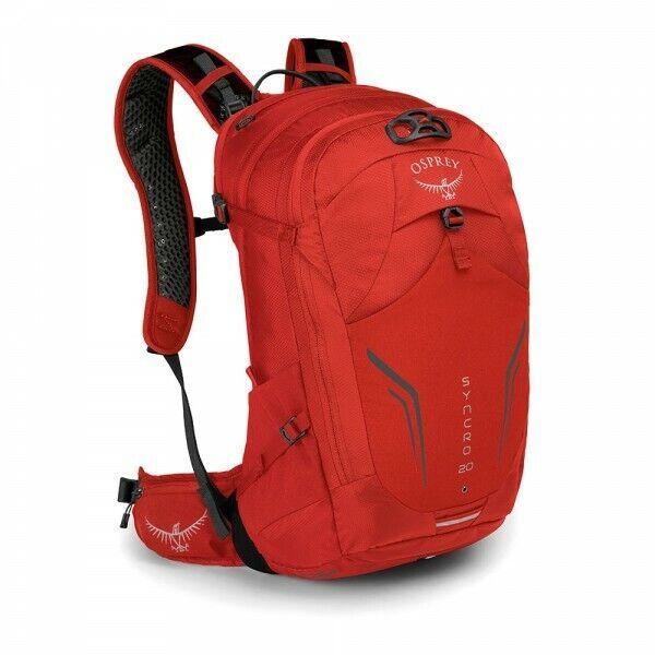 Rucksack Trekking Wandern Outdoor OSPREY SYNCRO 20 Liter col.Firebelly rot
