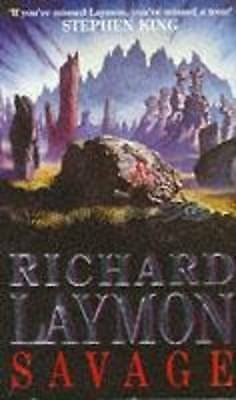 1 of 1 - Savage, By Laymon, Richard,in Used but Acceptable condition