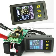 DC Battery 120V 100A Voltmeter ammeter Watt Power capacity Digital Combo Meter