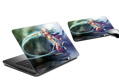 Lion Laptop Skin And Mouse Pad Tattoo Cover Notebook Skins Sticker Decal