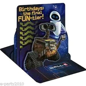 Image Is Loading WALL E CENTERPIECE Birthday Party Supplies Pixar Room