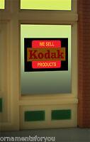 Miller's Kodak Animated Neon Window Sign 8875 O Scale