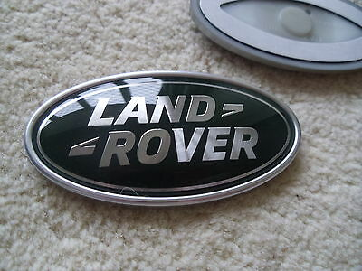 LAND ROVER DEFENDER  REAR  OVAL BADGE LATEST TYPE & GENUINE