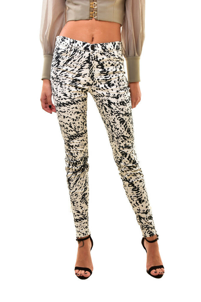 Brand Donna J 6201563LBY Stretch Skinny Jeans MULTITAGLIA 28 Rrp  272 BCF811