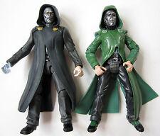 Marvel Legends Dr Doom lot of 2 movie figure toy biz fantastic four doctor