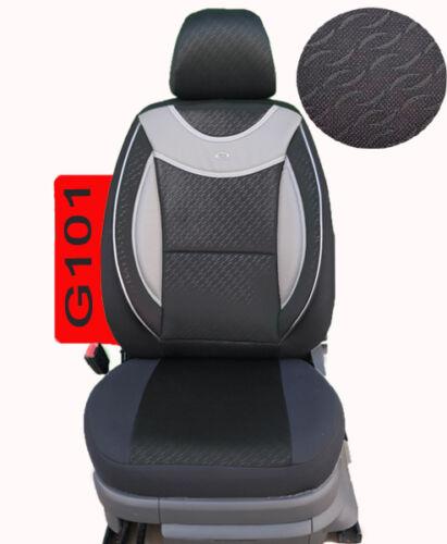 VW SHARAN bis 2010  Maß Schonbezüge Sitzbezug Sitzbezüge Fahrer /& Beifahrer G101