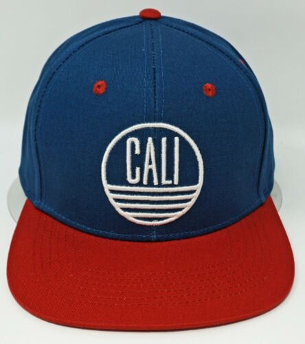 CALI Snapback Cap Hat California Republic 100/% Cotton OSFM New