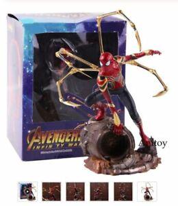 Marvel-Avengers-Iron-Spiderman-1-10-Scale-PVC-Statue-Figur