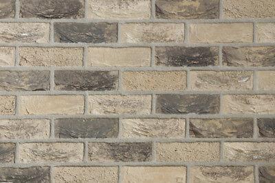 Ehrgeizig Handform-verblender Wdf-format Bh943 Grau-beige-bunt Vormauersteine Klinker Fassade