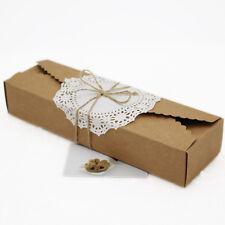 Kraft Paper Muffin Fingers Cookie Macarons Box Packing Cake Gift Anniversary