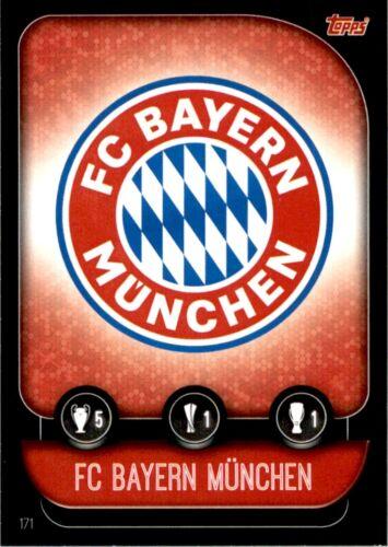 171 Placa//Manuel Neuer el Bayern de Múnich no Match Attax Liga de Campeones 19//20