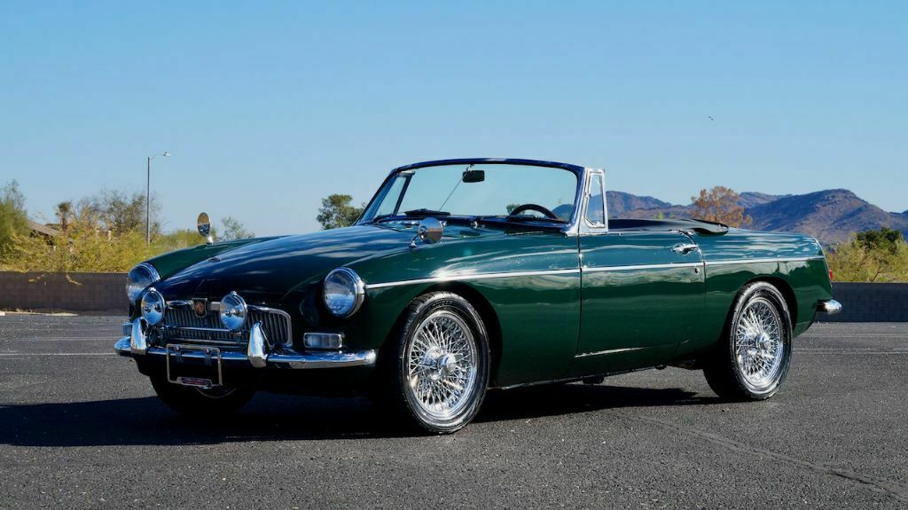 1966 MG MGB Supercharged Restored