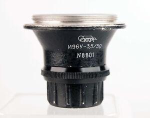 Industar N96y 1:3,5/50mm Enlarger Lens Fungus N8801 Mit Flecken Bzw