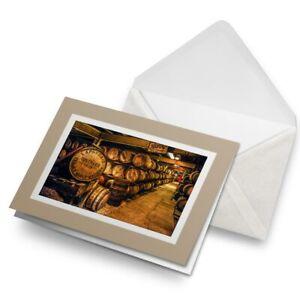 Greetings-Card-Biege-Scottish-Distillery-Whiskey-Barrels-16369