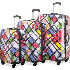 4655f5d8e18f Merax Luggages 3 Piece Luggage Set Lightweight Spinner Suitcase ...