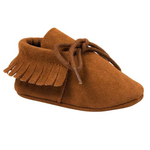 Nouveau-né Bébé Fille Garçon Sandale Soulier Frange Chaussures Antidérapante NF