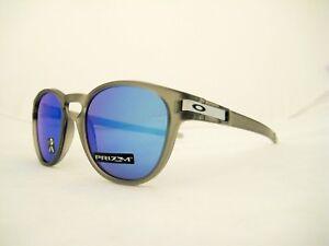 new OAKLEY LATCH Polarized Sunglasses Matte Grey Ink Prizm Sapphire ... 16b18816d0
