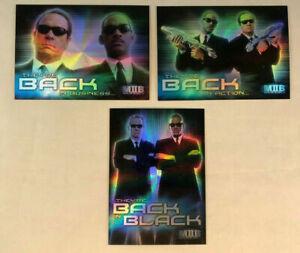 Details About Men In Black Ii Mib Foil Hobby Version Box Loader Card Set Bl1 Bl3 Nm