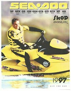 1997 seadoo shop manual