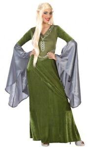 a3fd3dbb37836c Déguisement Femme LUTIN Médiéval Vert XL 44 Adulte Elfe Gobelin NEUF ...