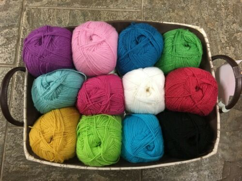 West Yorkshire Spinners Signature 4 ply /'Sweet Shop Range/' Great For Socks
