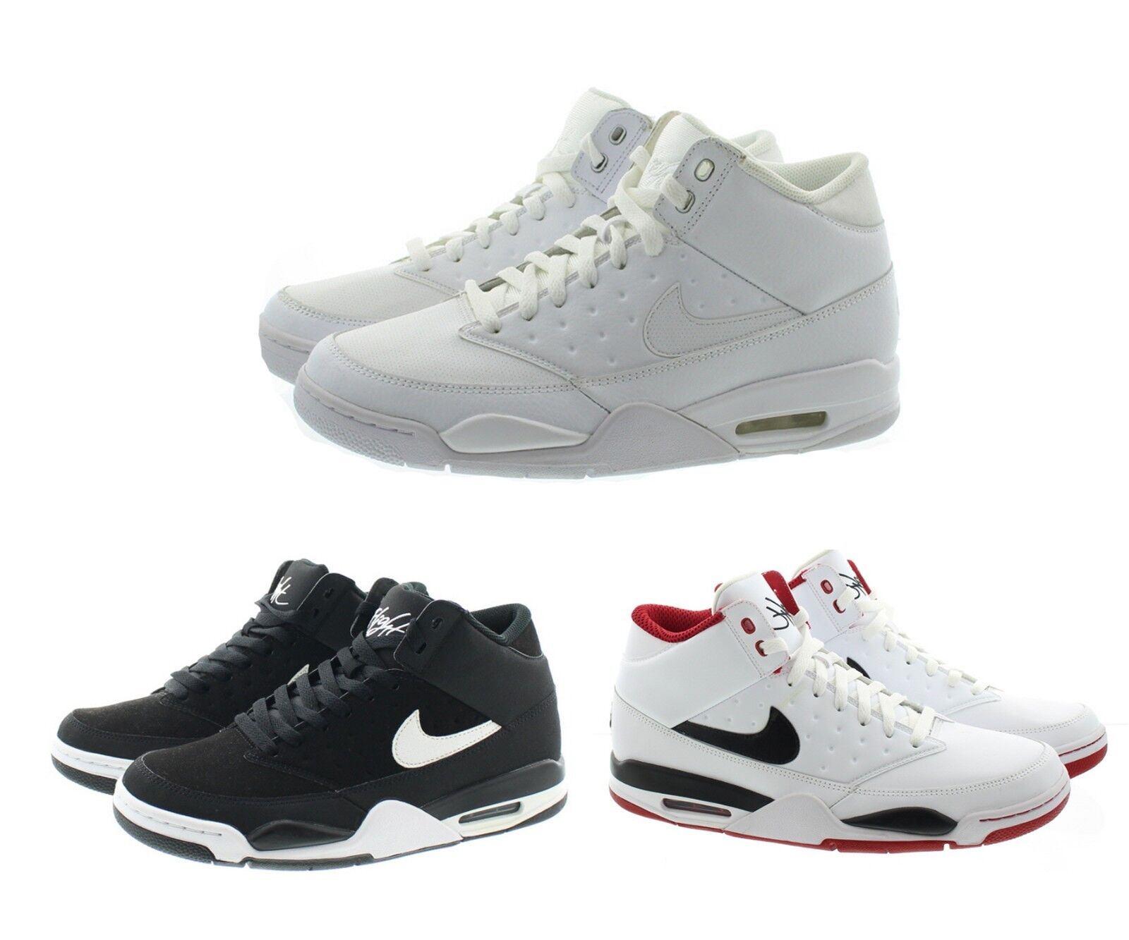 Nike 414967 Men's Air Flight Classic Mid Top Basketball shoes Sneakers