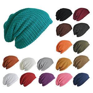 Mens Slouchy Long Beanie Knit Cap for Summer Winter Oversize R3K5  0ba3fb9e981d