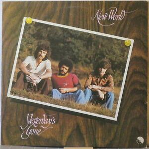NEW WORLD Yesterday's Gone LP 1970s Aussie Pop Rock w/Russ Ballard, B Willoughby