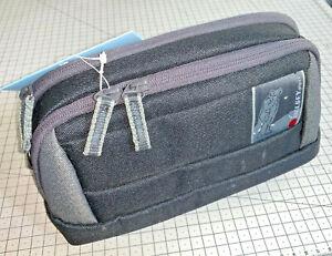 Delsey GOPIX 55 Belt Pack & Shoulder Bag for Compact Systems, Grey & Black