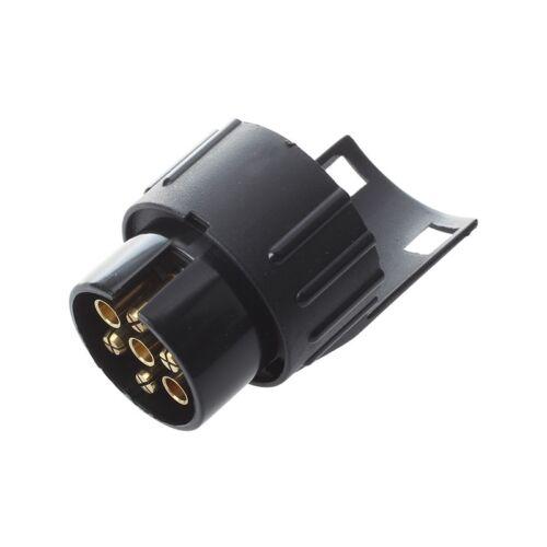 7-13 Pin Adapter Anhaenger 12V Caravan Lkw Anhaengerkupplung Abschleppen Et
