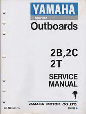 1995 YAMAHA OUTBOARD MOTOR  2B, 2C, 2T LIT-18616-01-16 SERVICE MANUAL (809)