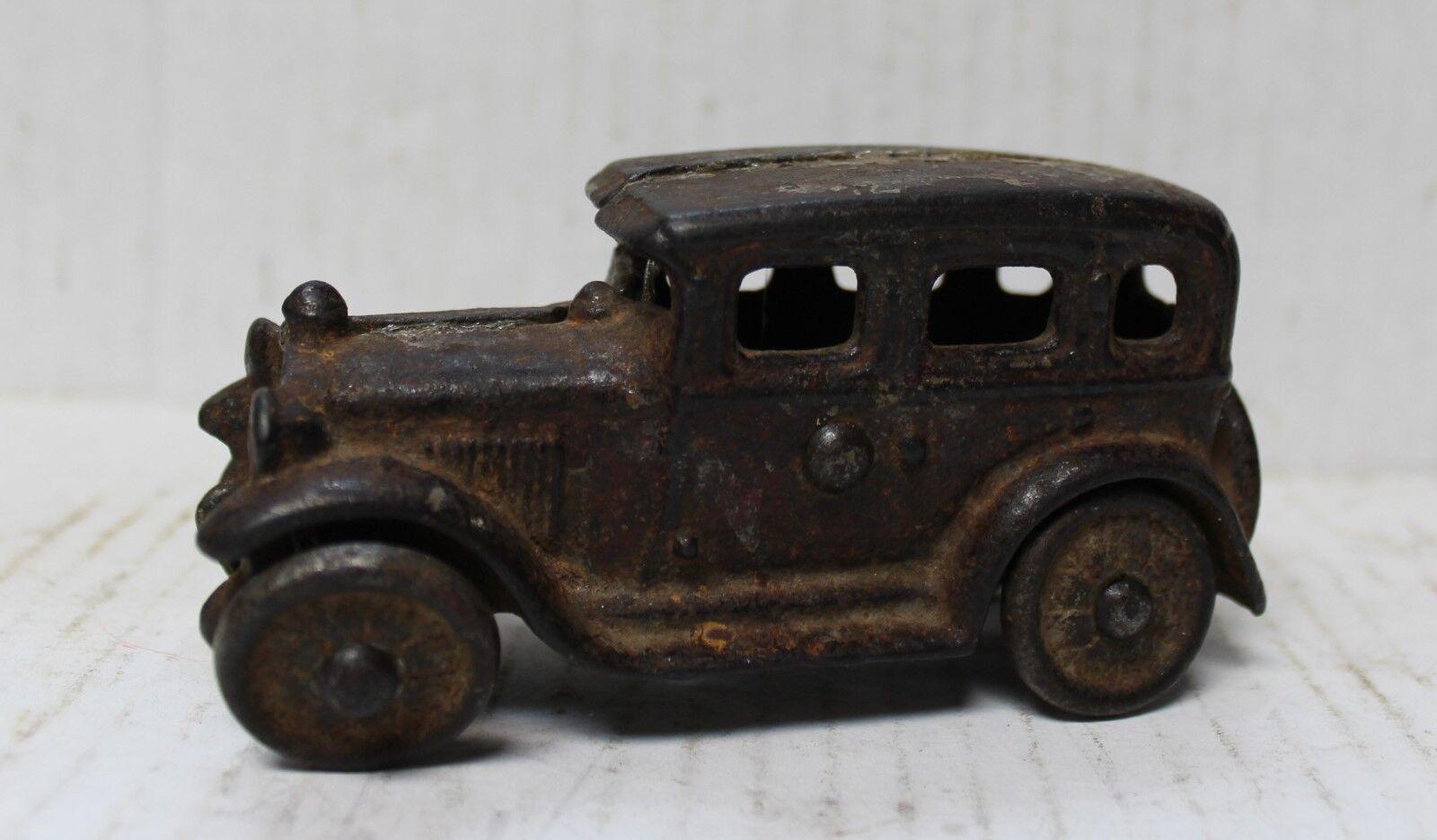Antique AC Williams Cast Iron Sedan Car