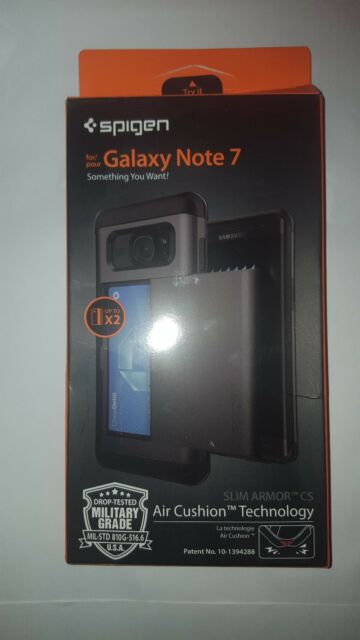 Samsung Galaxy Note 7Case, Spigen® [Slim Armor CS] Air Cushion BNIB