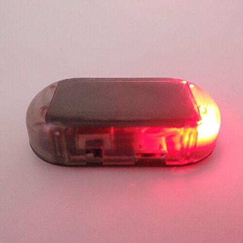 Fake Solar Car Alarm Led Light Security System Warning Theft Flash Blinking Fast